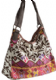 Hippy Bag~Ethnic Print Shoulder Bag Hippy Patterned Canvas Bag~Fair Trade by Folio Gothic Hippy SB253